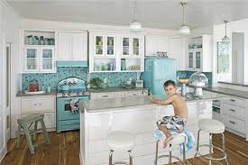 kitchen cool blue gray metro subway tile backsplash designs blue