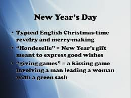 sir gawain and the green fit i new year s day typical