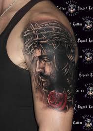 rose and cross tattoo sleeve freespywarefixescom