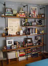 Office Shelf Decorating Ideas Best 25 Wall Behind Couch Ideas On Pinterest Shelving Behind