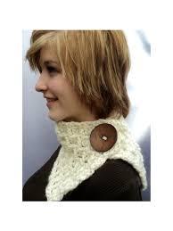 crochet pattern popcorn scarf neck warmer wrap by rusticcove