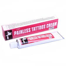 анестезия обезболивающий крем painless tattoo cream
