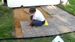 Paver Patios Hgtv by Add Outdoor Living Space With A Diy Paver Patio Hgtv Fair