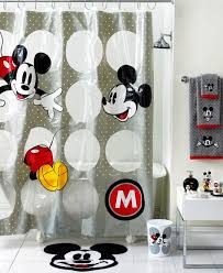 Minnie Mouse Bowtique Curtains Decorating With Mickey Mouse Bathroom Set