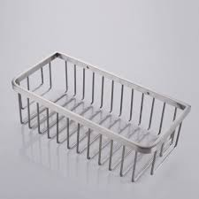 Bathroom Shower Shelves Stainless Steel by Kes Bathroom Shower Caddy Rectangular Extra Deep Sus304 Stainless