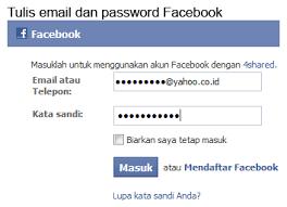kesulitan membuat akun facebook cara daftar dan download melalui 4shared yanukata