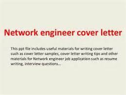 network engineer cover letter sample network control engineer