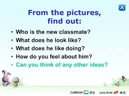how to find a classmate tsa writing skills primary 6 ppt online