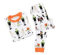 halloween tight fit pajama pottery barn kids