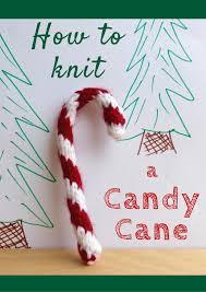 knitting patterns galore candy cane