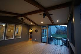 Screen Porch Roof by Decks Com Shawnee Ks Deck Builder Pictures Urban Designs And