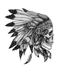 skull indian my eye