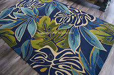 Area Rugs Tropical Theme Tropical Rug Ebay