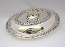 Antikes Esszimmer Um 1900 Antike Servierhaube Servierschale Cloche Serving Dish