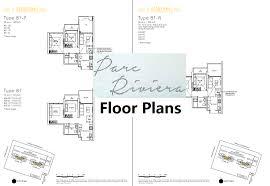 The Parc Condo Floor Plan by Parc Riviera High Rise Waterfront Condominium Along Sungei Pandan
