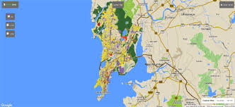 map use maps mania the mumbai land use map