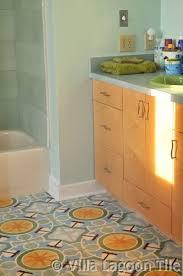 Concrete Floor Bathroom - bathrooms with cement tile villa lagoon tile