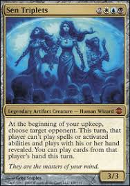 blue black white commander edh mtg deck