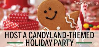 holiday party theme candyland tasty catering