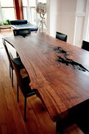 Walnut Slab Table Wood Slab Table Shows True Beauty U2013 Adorable Home