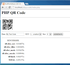 Create Qr Code For Business Card Php Master Generate Qr Codes In Php