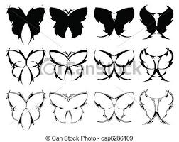 butterfly designs set of butterfly designs inspired eps