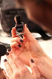 nyfw fall winter 2013 14 nail polish trends matte studded