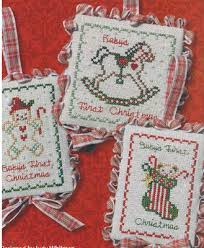 jbw designs advent calendar ornamentals cross stitch