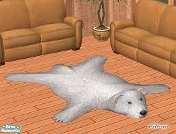 windkeeper u0027s faux polar bear skin rug