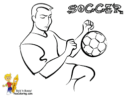 soccer goalkeeper coloring pages
