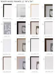 Gallery Wall Frames by 128 Ready Made Frames To Get You U0027gallery Wall Ready U0027 Emily