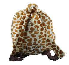 for kids backpack for chidren soft giraffe 25 cm 4 5 liter