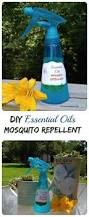 essential oil mosquito repellent spray diy project