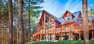alpine meadow ii version v log homes cabins and log home