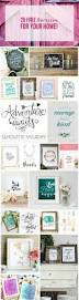 25 free printables for your home free printables cricut and craft