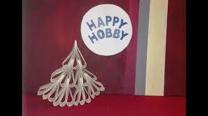 weihnachtsbaum tanne aus 21 buchseiten upcycling buch papier