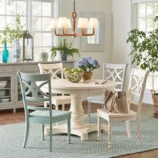 Dining Room Tables White 54 Inch Round Dining Table In Perfect Decoration