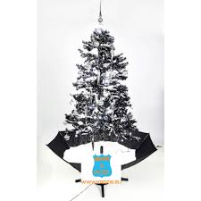 snowing christmas tree christmas lights decoration