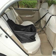 protection siege auto arriere toile panier imperméable protection siège arrière auto voiture pour