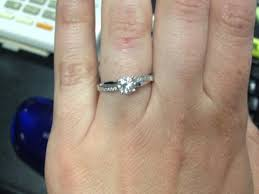 5mm diamond does anyone a half carat moissanite or asha solitaire