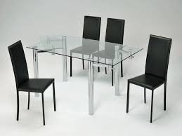 Ikea Glass Dining Table by Home Design Ikea Transparent Glass Dining Room Table Calm Set