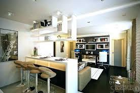 cuisine ouverte avec bar sur salon cuisine bar americain newsmakerme cuisine bar americain cuisine bar