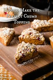 how to make the perfect crumb topping cupcake project