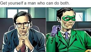 Riddler Meme - get yourself a riddler who can do both get you a man who can do