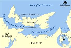 Show Me A Map Of Canada northumberland strait wikipedia