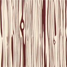 brown wood tree pattern organic fabric by birch from the usa