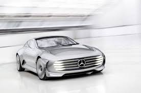 tesla model s concept mercedes benz has unveiled the iaa concept as a direct competition