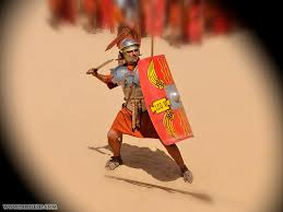 roman army reenactment photographs of formations shields