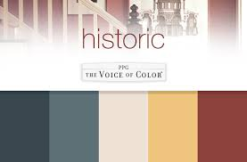 ppgvoiceofcolor com historic paint colors collection