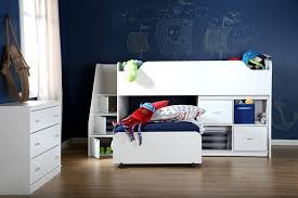 south shore twin loft bed with chest and storage unit walmart com